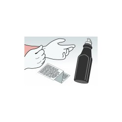 Kit Ricarica Toner Nero Per HP C4092A