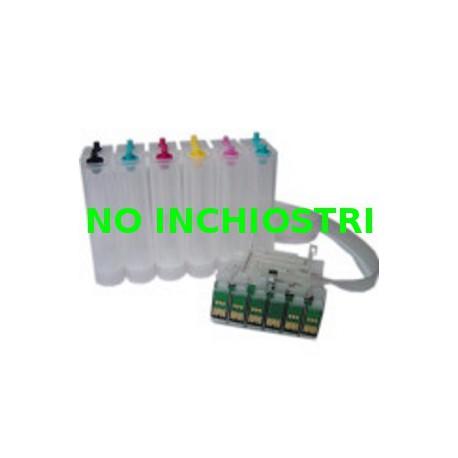 Sistema Di Ricarica Continua Per Cartucce Epson T0801-T0802-T0803-T0804-T0805-T0806 autoreset