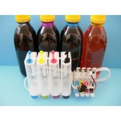 Sistema Di Ricarica Continua Per Cartucce Epson T1291-T1292-T1293-T1294 autoreset dye