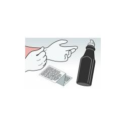 Kit Ricarica Toner Nero Per Cartucce Per Brother TN-7600