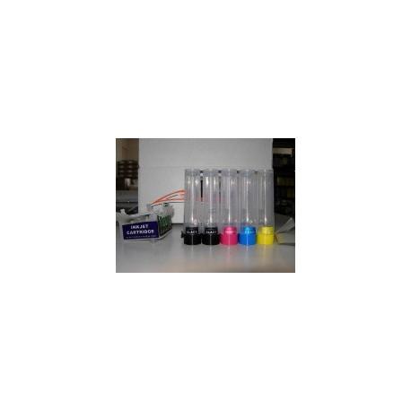 Sistema Di Ricarica Continua Per Cartucce Epson T0711h-T0711h-T1002-T1003-T1004 autoreset