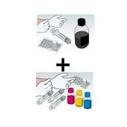Offerta Snap Kit Per Epson T0711 T0712 T0713 T0714