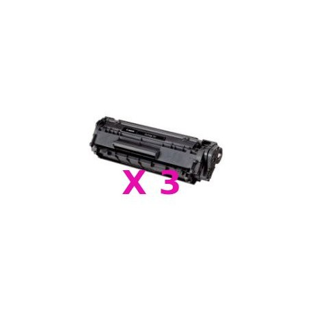 Tripack Toner Compatibili Per Canon FX-10