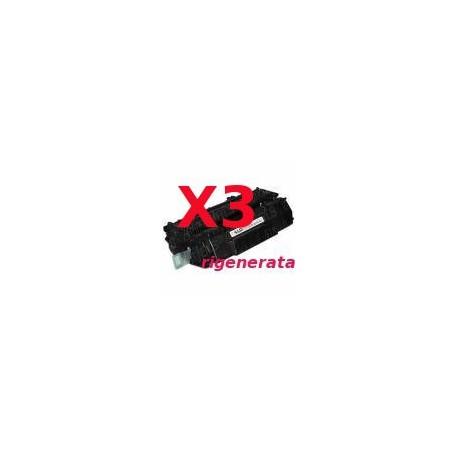 Tripack Toner Rigenerati Per Hp Q5949A