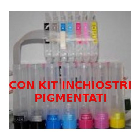 Sistema Di Ricarica Continua Per Cartucce Epson T0341-T0342-T0343-T0344-T0345-T0346-T0347-T0348