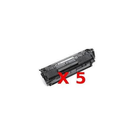 Pentapack Toner Compatibili Per Hp Q2612A