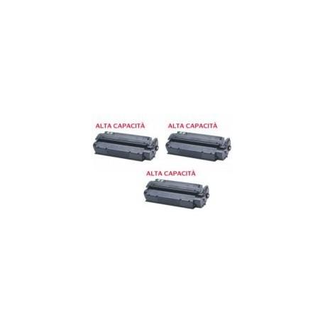 Tripack Toner Compatibile Nero Per Hp Q2613X