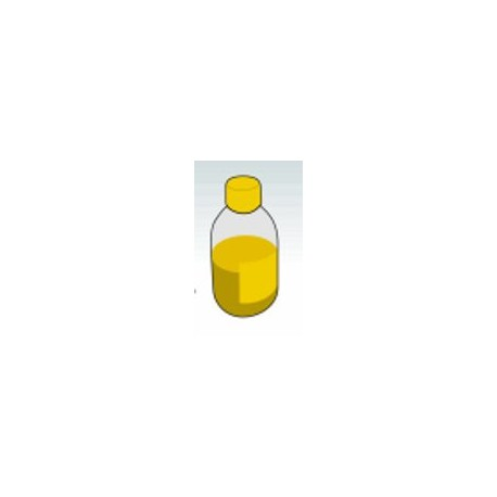 Flacone 500 ML Inchiostro Giallo Dye Based