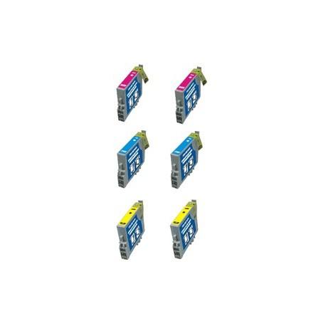 Set 6 Cartucce Compatibili Per Epson T1292 T1293 T1294