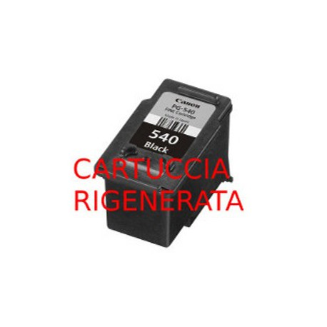 Cartuccia Rigenerata Nera Per Canon PG-540XL