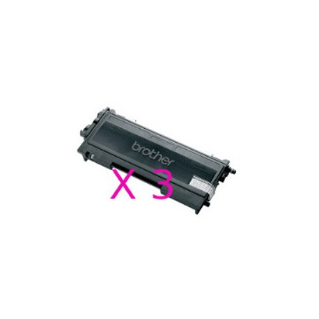 Tripack Toner Compatibili Per Brother TN2000