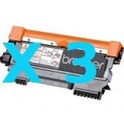 Tripack Toner Compatibili Per Brother TN2220