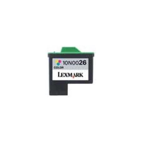 Cartuccia Tricolor Rigenerata Lexmark 10N0026