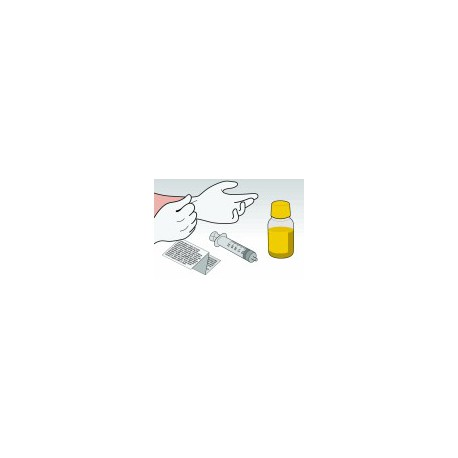 Kit Ricarica Giallo 100 ml per Cartucce Canon CL541