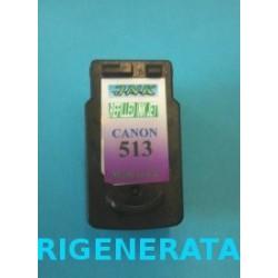 Cartuccia Tricolor Rigenerata Canon CL513 Alta Capacità