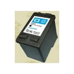 Cartuccia Nera Rigenerata HP 301XL CH563EE
