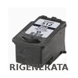 Cartuccia Nera Rigenerata Canon PG512 Alta Capacità