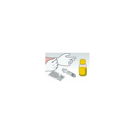 Kit 250 ml Giallo Pigmentato Per Cartucce Epson C13T543400 C13T544400