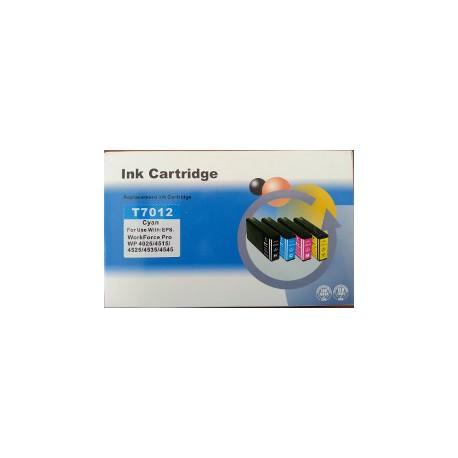Cartuccia Compatibile Ciano Per Epson T7012 XXL