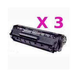 Offerta Tripack Toner Compatibili Per Cartuccia Canon 703