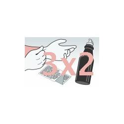 Kit Ricarica Toner Nero Offerta 3x2 Per Cartucce Epson SO50005 SO50010 SO50087