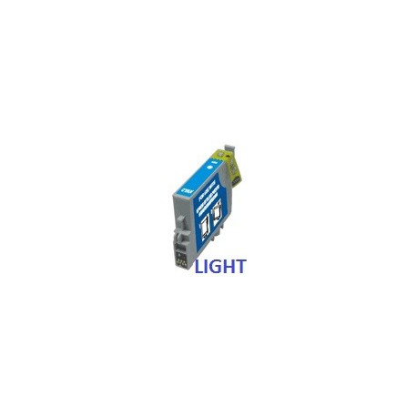 Cartuccia Compatibile Light Ciano Con Chip Per Epson T2435