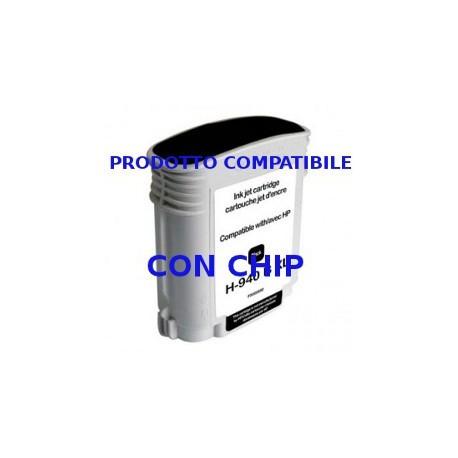 Cartuccia Compatibile Nera Con Chip Per Hp 940BK