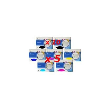 Set 35 Cartucce Compatibili Super Combo Per Epson T0801 T0802 T0803 T0804 T0805 T0806
