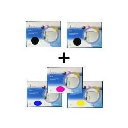 Set 5 Cartucce Compatibili Rainbow Per Epson T0711 T0712 T0713 T0714