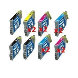 Cartucce Compatibili Supercombo Per Epson T0481 T0482 T0483 T0484 T0485 T0486