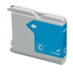 Cartuccia Compatibile Ciano Per Brother LC-1000C LC-970C