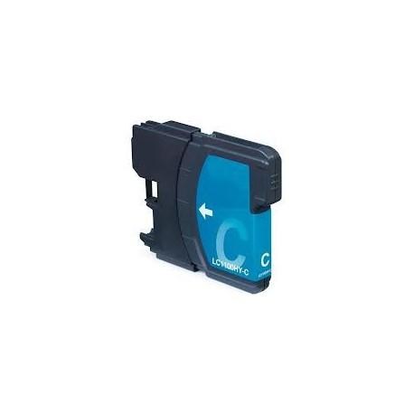 Cartuccia Compatibile Ciano Alta Capacità Per Brother LC-1100C LC-980C