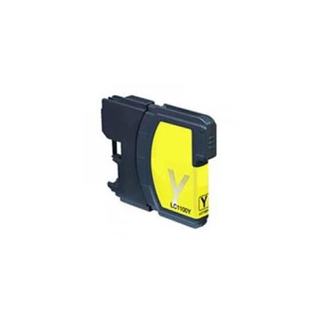 Cartuccia Compatibile Gialla Ad Alta Capacità Per Brother LC-1100Y LC-980Y