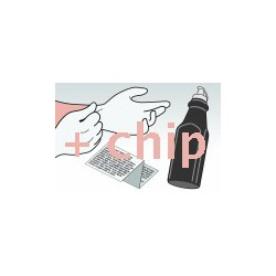 Kit Ricarica Toner Nero Per Cartucce Ricoh 407008 - 402810