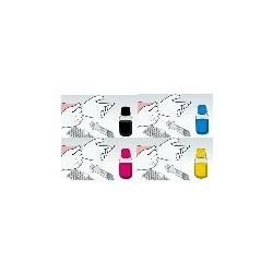 Kit 4 Flaconi 250 ML Inchiostro Dye