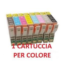 Cartucce Compatibili Combo Per Epson T0341 T0342 T0343 T0344 T0345 T0346 T0347 T0348