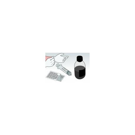Kit Ricarica Nero 1 Litro Per Cartucce HP56 HP27