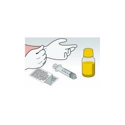 Kit Ricarica Giallo 100 ml Per Cartucce HP22