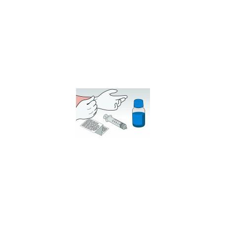 Kit Ricarica Ciano 500 ml Per Cartucce HP 300