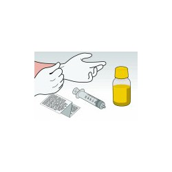 Kit Ricarica Giallo 100 ml Per Cartucce HP C6578 C6625 C1823D