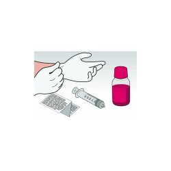 Kit Ricarica Magenta 500 ml Per Cartucce HP342 HP343 HP344