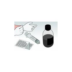 Kit Ricarica Nero 500 ml Per Cartuccia Lexmark 10N0016 10NX217