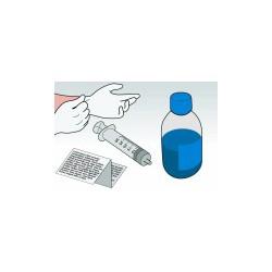 Kit Ricarica Ciano 500 ml Per Cartuccia Lexmark 10N0026 10NX227