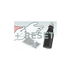 Kit Ricarica Toner Nero Per Cartuccia Starter Brother TN-2320