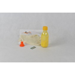 Kit Ricarica Toner Giallo Per Cartucce Lexmark C540H1YG con chip