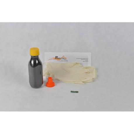 Kit Ricarica Toner Nero Per Cartucce Dell 593-10493 con chip