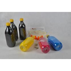 Kit Ricarica Toner Super Rainbow Qualità Glossy Per Cartucce Oki 42918916 42918915 42918914 42918913