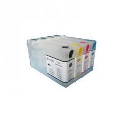 Set 4 Cartucce Vuote Ricaricabili Per Epson T7901-T7902-T7903-T7904