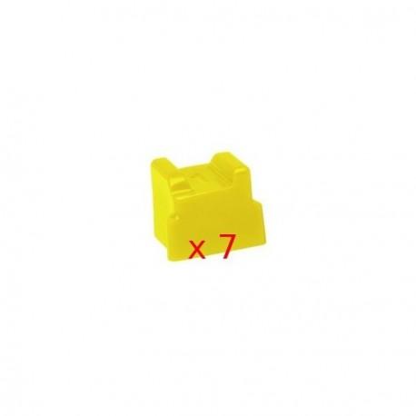7 Ink Sticks Compatibili Giallo Per Cartucce Xerox 108-R00-748