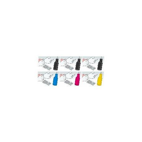Kit Ricarica Toner Offerta Super Rainbow Per Cartucce Epson S050100 S050099 S050098 S050097